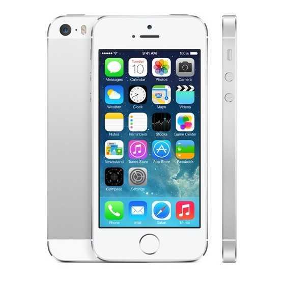 GRADO A 32GB SILVER - iPhone 5S ricondizionato usato