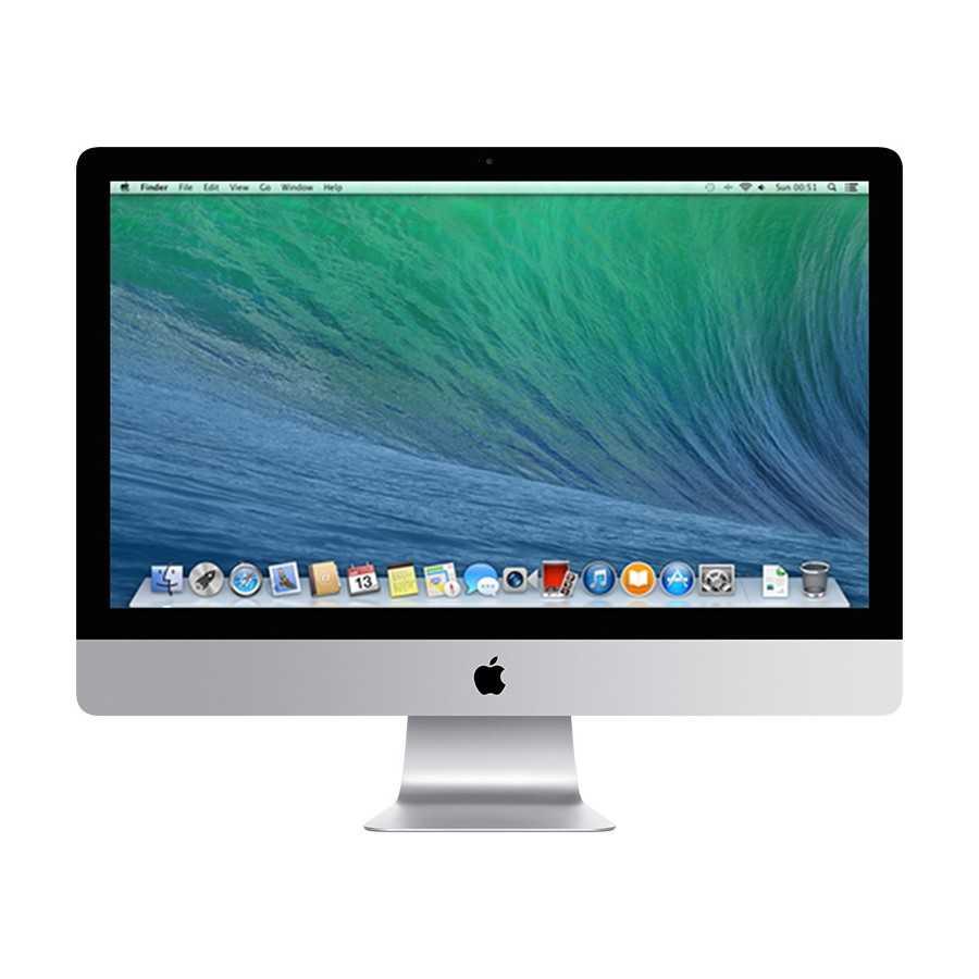 """iMac 27"""" 3.4GHz i5 8GB RAM 256GB SSD - Fine 2013 ricondizionato usato MG2737/3"""