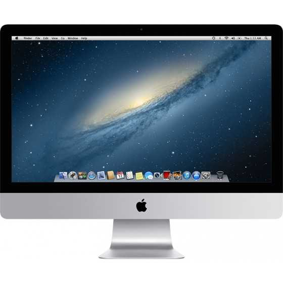 "iMac 27"" 3.4GHz i7 16GB RAM 128GBGB FLASH - Fine 2012"
