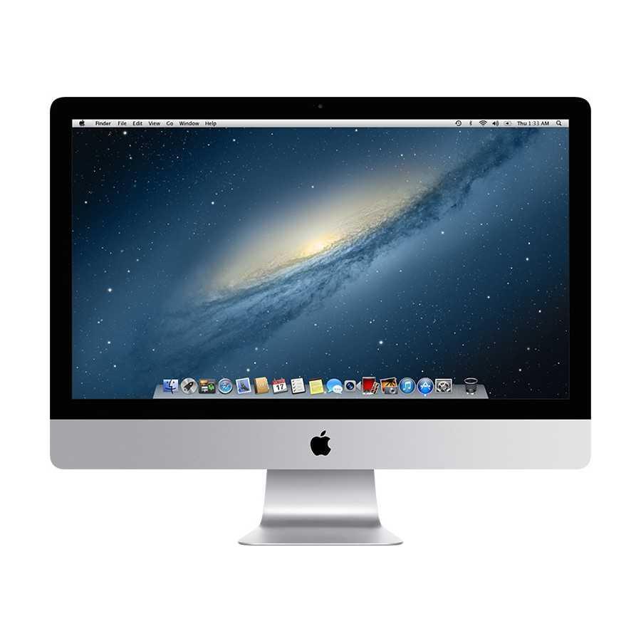 """iMac 27"""" 3.4GHz i7 32GB RAM 121GB SSD + 3TB Sata - Fine 2012 ricondizionato usato MG2734/8"""