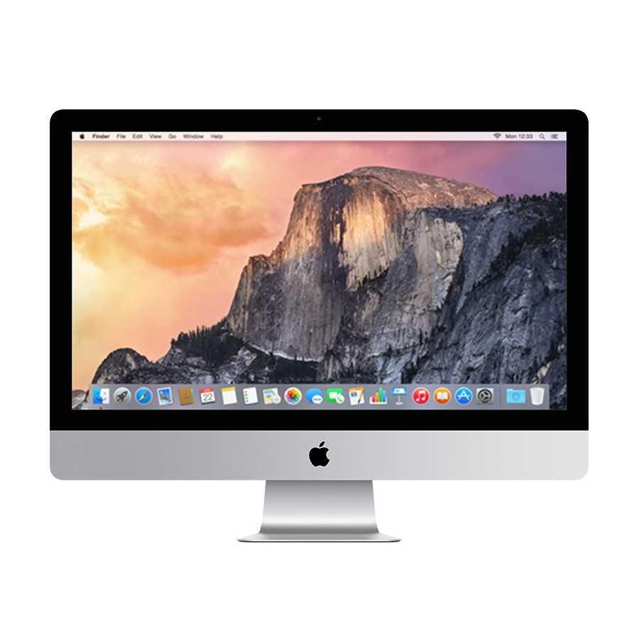 """iMac 27"""" 5K Retina 3.5Hz i5 8GB RAM 1.12TB FUSION DRIVE - Fine 2014 ricondizionato usato MG2736"""