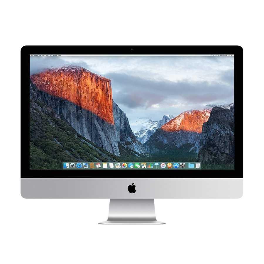 """iMac 27"""" 5K Retina 4.0GHz i7 32GB RAM 2TB FUSION DRIVE - Fine 2015 ricondizionato usato IMAC27"""