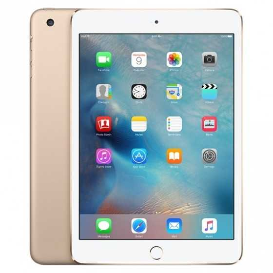 iPad mini 3 64GB 4G GOLD - GRADO AB