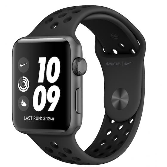Apple Watch 3 Nike+ - NERO ricondizionato usato WATCHS3NERONIKE42GPSA