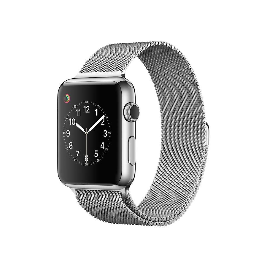 Apple Watch 3 - SILVER ricondizionato usato WATCHS3ACCIAIOSILVER42GPSA