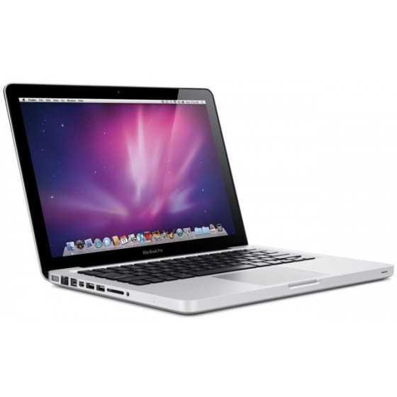 """MacBook PRO 13"""" 2,4GHz Core 2 Duo 4GB ram 500GB HDD - Metà 2010 ricondizionato usato MG1322"""