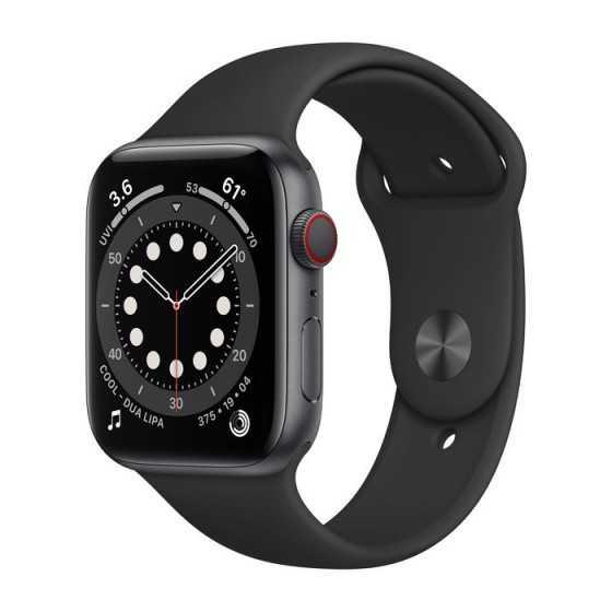 Apple Watch 6 - Grigio Siderale ricondizionato usato AWS644MMGPS+CELLULARNERO-B