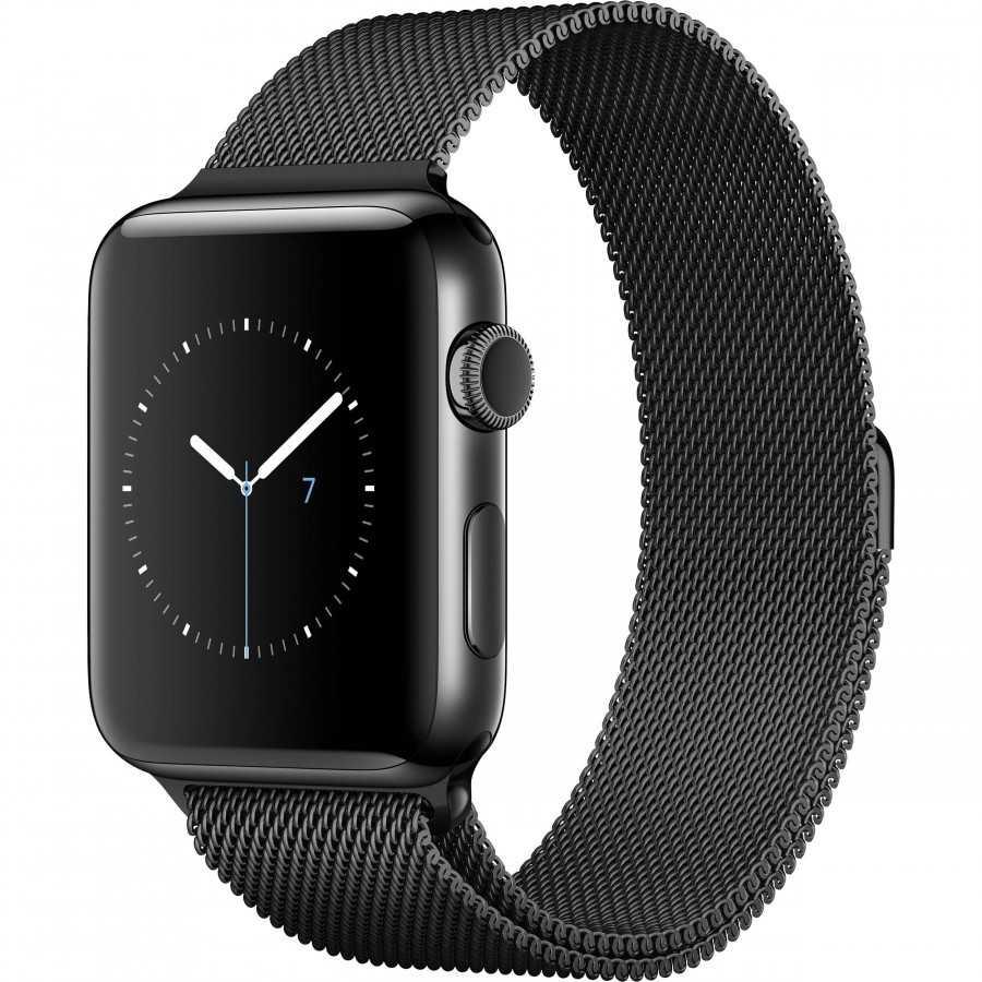 Apple Watch 2 - NERO ricondizionato usato WATCHS2NERO42ACCIAIOGPSA+