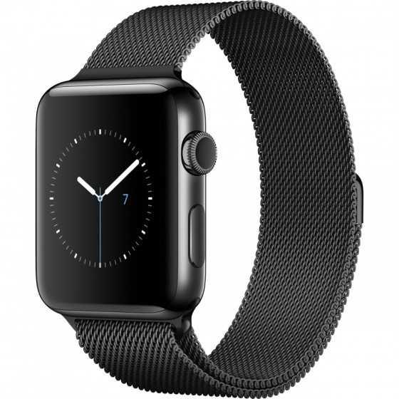 Apple Watch 2 - NERO ricondizionato usato WATCHS2NERO42ACCIAIOGPSC