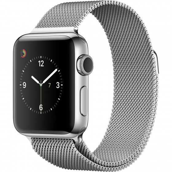 Apple Watch 2 - SILVER ricondizionato usato WATCHS2SILVER38ACCIAIOGPSC