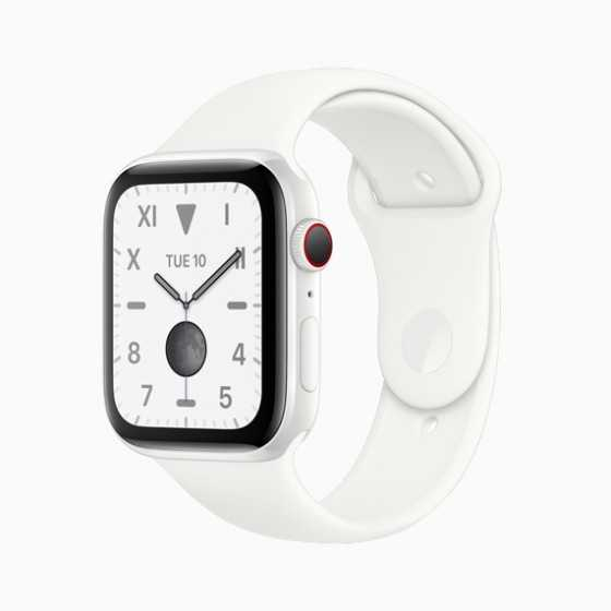 Apple Watch 5 - Bianco ricondizionato usato W5BCERAMICA44MMCELLBIANCO-A+