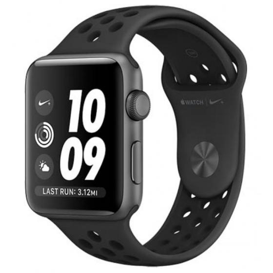 Apple Watch 2 Nike+ - NERO ricondizionato usato WATCHS2NERO42SPORTNIKEGPSA+