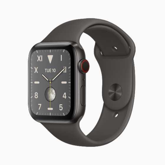 Apple Watch 5 - Nero ricondizionato usato W5TITANIO44MMCELLNERO-A