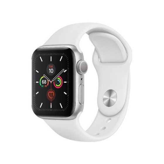 Apple Watch 5 - Silver ricondizionato usato W5ALL44MMGPSSILVER-B