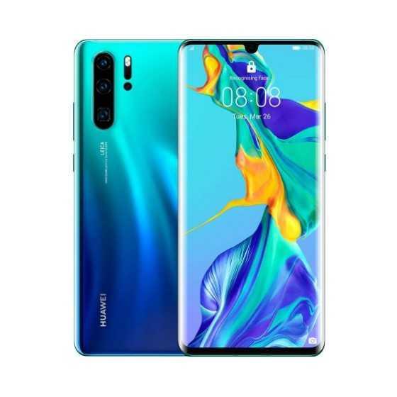 Huawei P30 Pro 128GB Blu Aurora ricondizionato usato P30PRO128GBBLU-AB