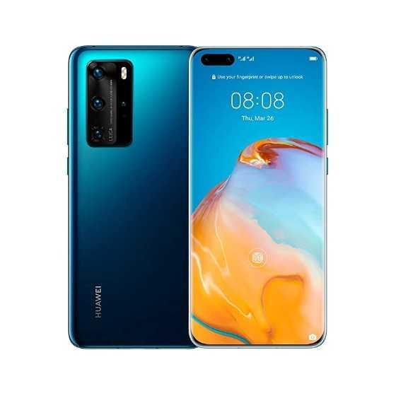 Huawei P40 Pro - 256GB Deep Sea Blue ricondizionato usato P40PRO256GBBLU-A+
