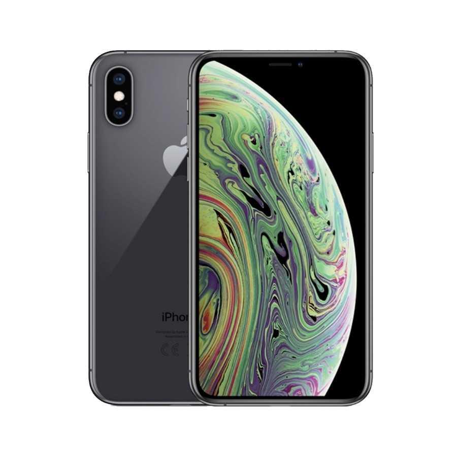 iPhone XS Max - 256GB NERO ricondizionato usato IPXSMAXNERO256A+