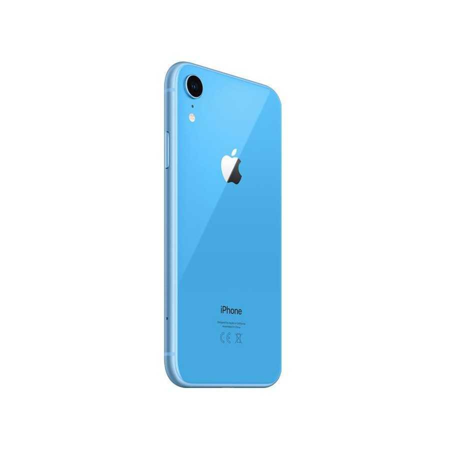 iPhone XR - 128GB BLU ricondizionato usato IPXRBLU128A+