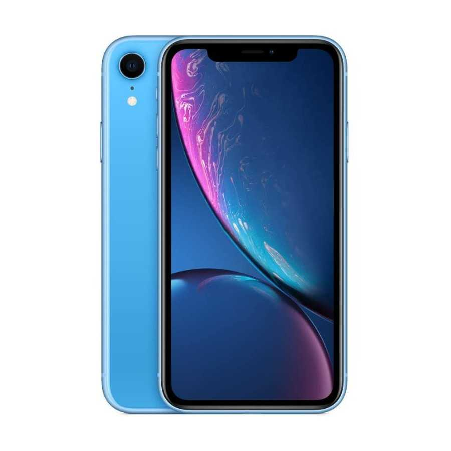 iPhone XR - 64GB BLU ricondizionato usato IPXRBLU64A+