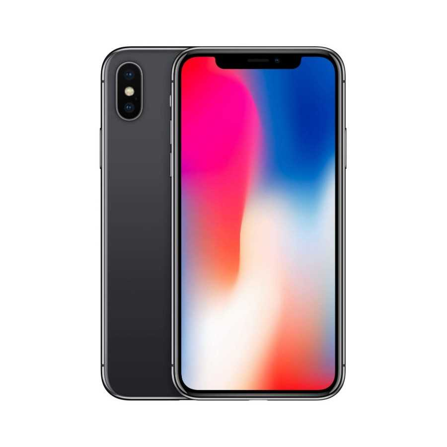 iPhone X - 64GB NERO ricondizionato usato IPXNERO64A