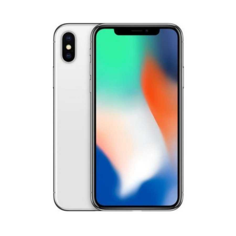 iPhone X - 256GB SILVER ricondizionato usato IPXSILVER256A+