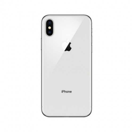 iPhone X - 64GB SILVER ricondizionato usato IPXSILVER64A+