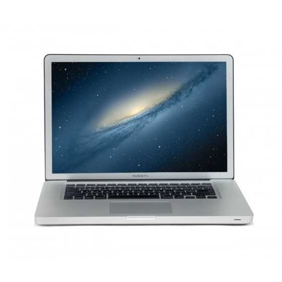 "MacBook PRO 15.6"" 2,66GHz i7 8GBram 500GB HDD - metà 2010"