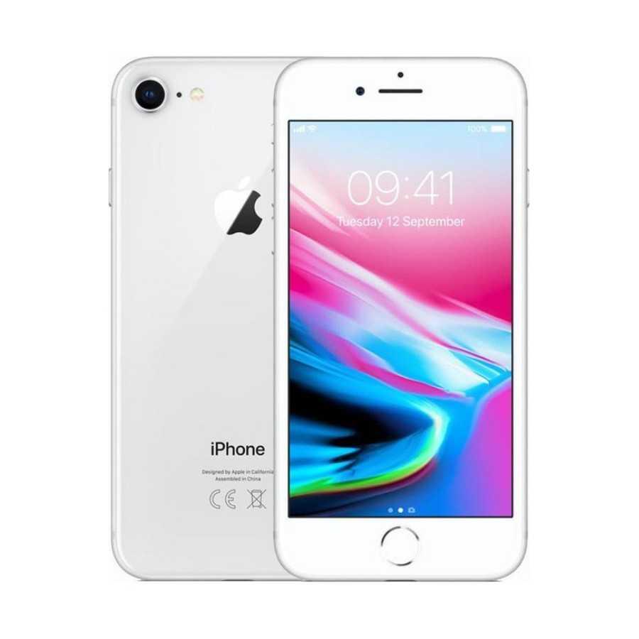 iPhone 8 - 64GB SILVER ricondizionato usato IP8SILVER64B