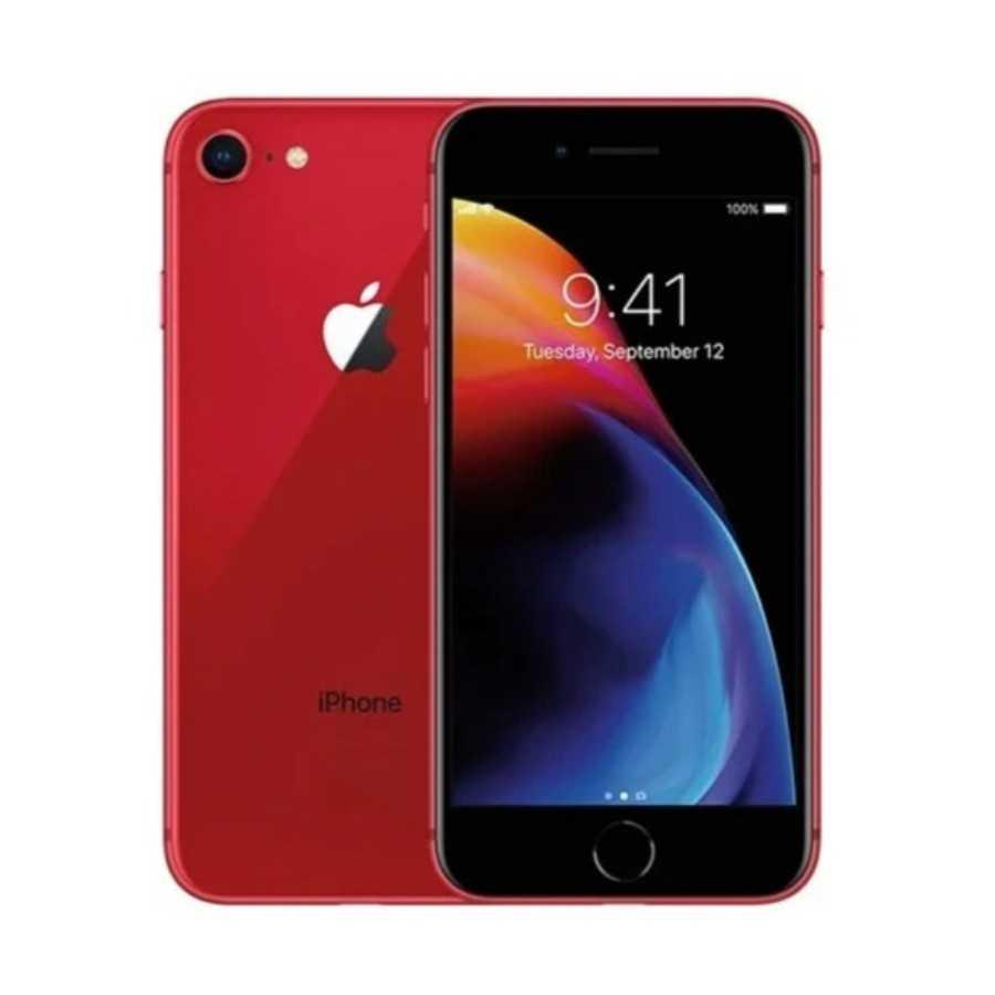 iPhone 8 - 64GB RED® ricondizionato usato IP8RED64A+