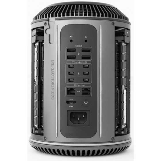 Mac Pro 3.7Ghz Quad-Core 12GB ram 256GB FLASH - Fine 2013