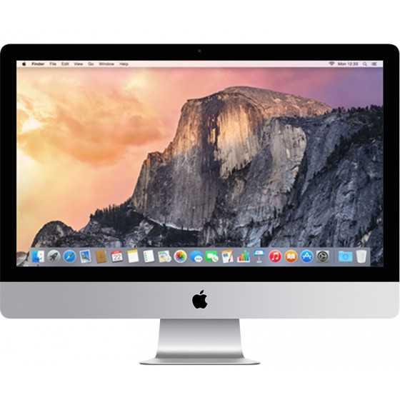"iMac 27"" 5K Retina 3.5Hz i5 8GB RAM 121GB Flash + 1TB Sata - Fine 2014"