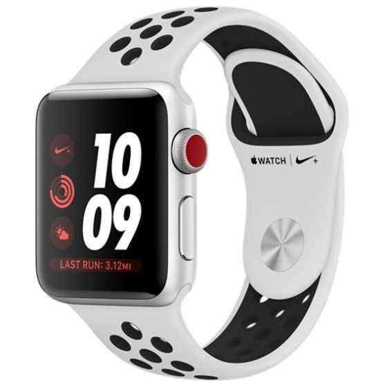 Apple Watch 3 Nike+ - SILVER ricondizionato usato WATCHS3SILVERNIKE42CELLGPSA