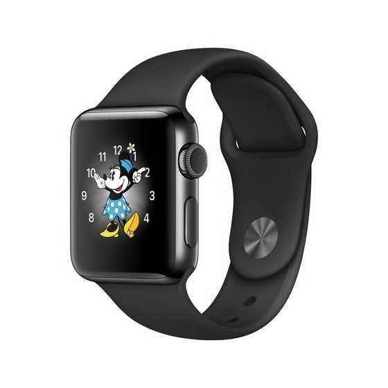 42mm - Apple Watch Acciaio e Zaffiro - Grado A
