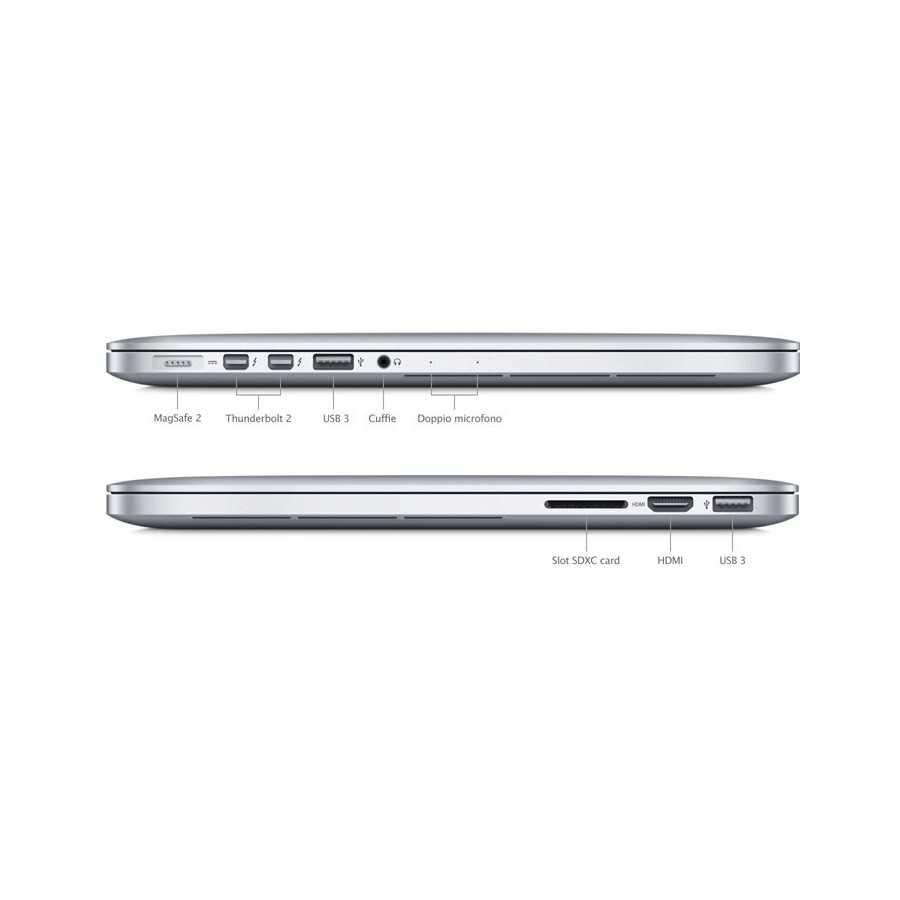"""MacBook PRO Retina 13"""" i7 3,1GHz 16GB ram 512GB Flash - Fine 2013 ricondizionato usato MACBOOKPRORETINA2013"""