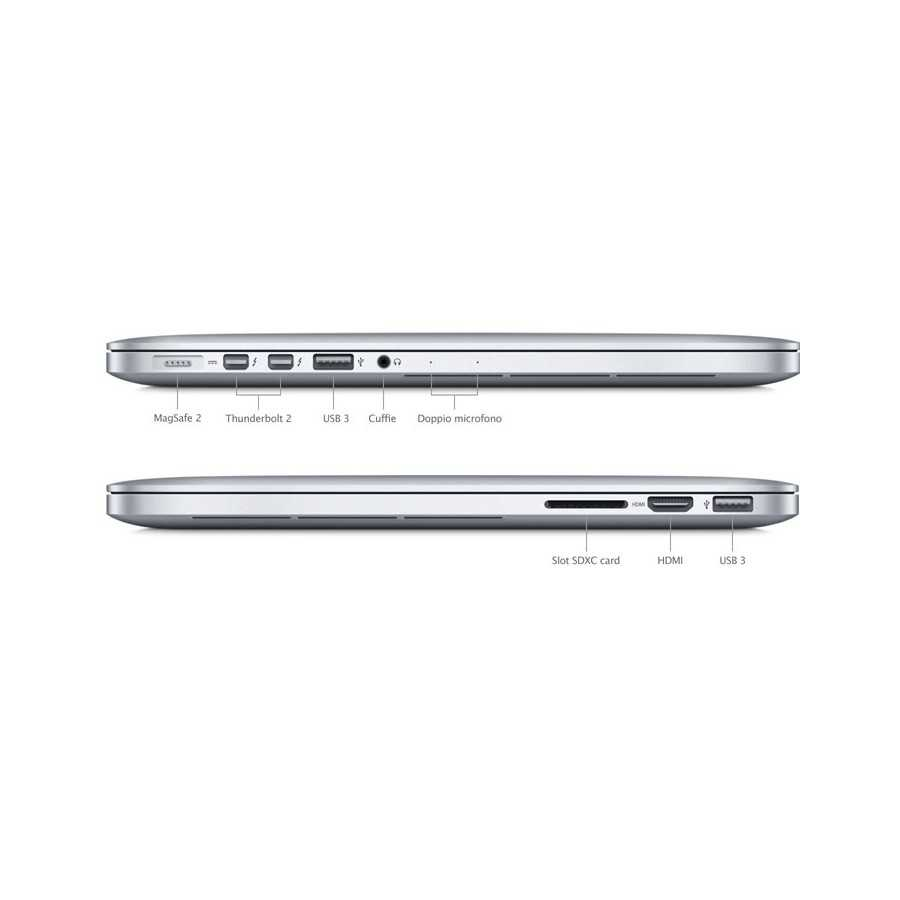 """MacBook PRO Retina 13"""" i5 2,9GHz 16GB ram 128GB Flash - Inizi 2015 ricondizionato usato MACBOOKPRORETINA2015"""