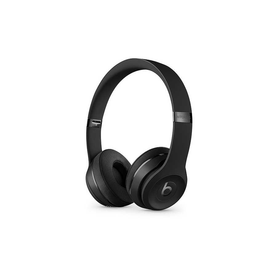 Cuffie Beats Solo3 Wireless - Nero opaco ricondizionato usato