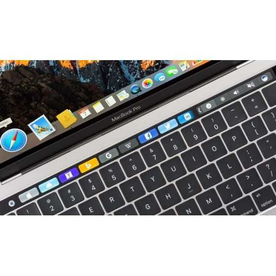 "MacBook PRO TouchBar 13"" i5 2,9GHz 8GB ram 256GB Flash - 2016"