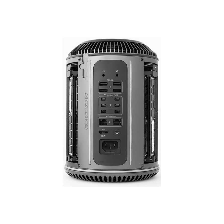 Mac Pro 3.7Ghz 4 Core 16GB ram 500GB FLASH - Fine 2013 ricondizionato usato MACPRO