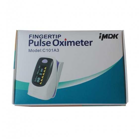 Saturimetro IMDK C101A3 CE0123 Classe 2A - Pulsossimetro Ossimetro Certificato DM
