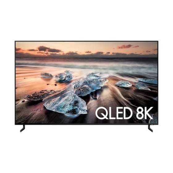 """TV QLED Samsung 85"""" Ultra HD 8K QE85Q900RATXXH ricondizionato usato"""