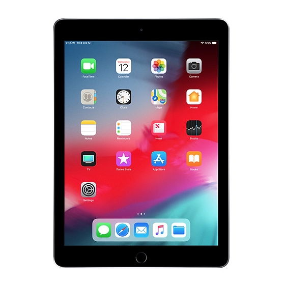 iPad 6 (2018) - 128GB NERO
