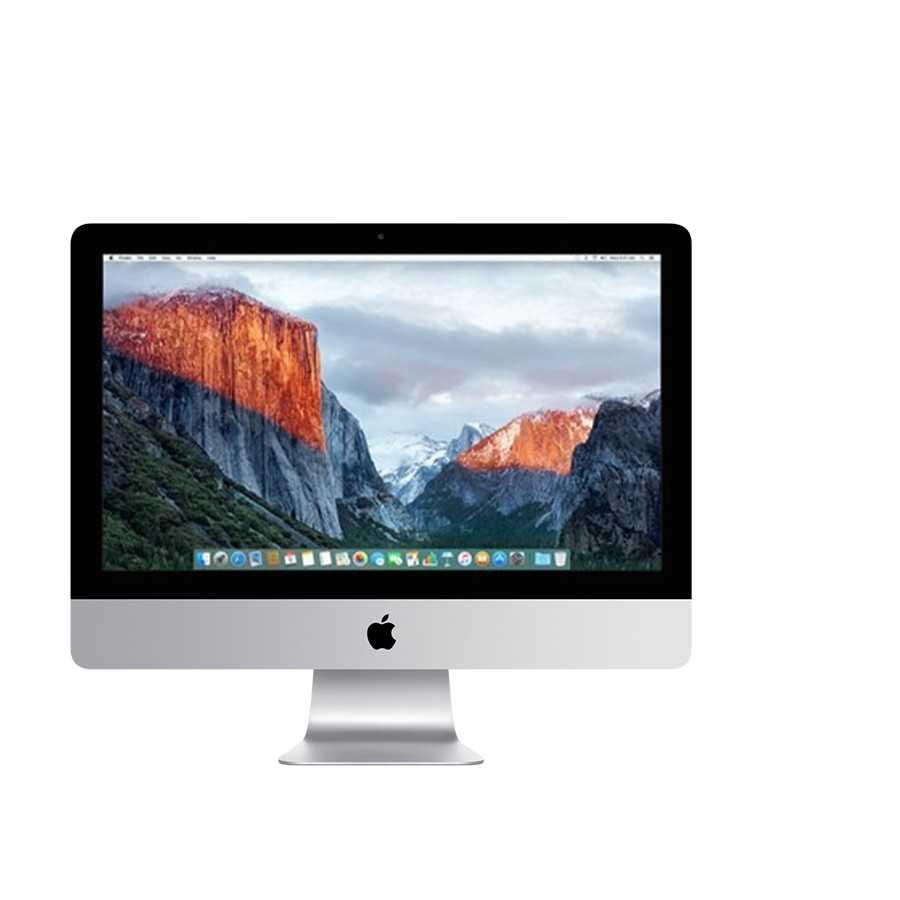 """iMac 21.5"""" 2.8GHz i5 8GB ram 1000GB HDD + 24GB Flash - Fine 2015 ricondizionato usato"""
