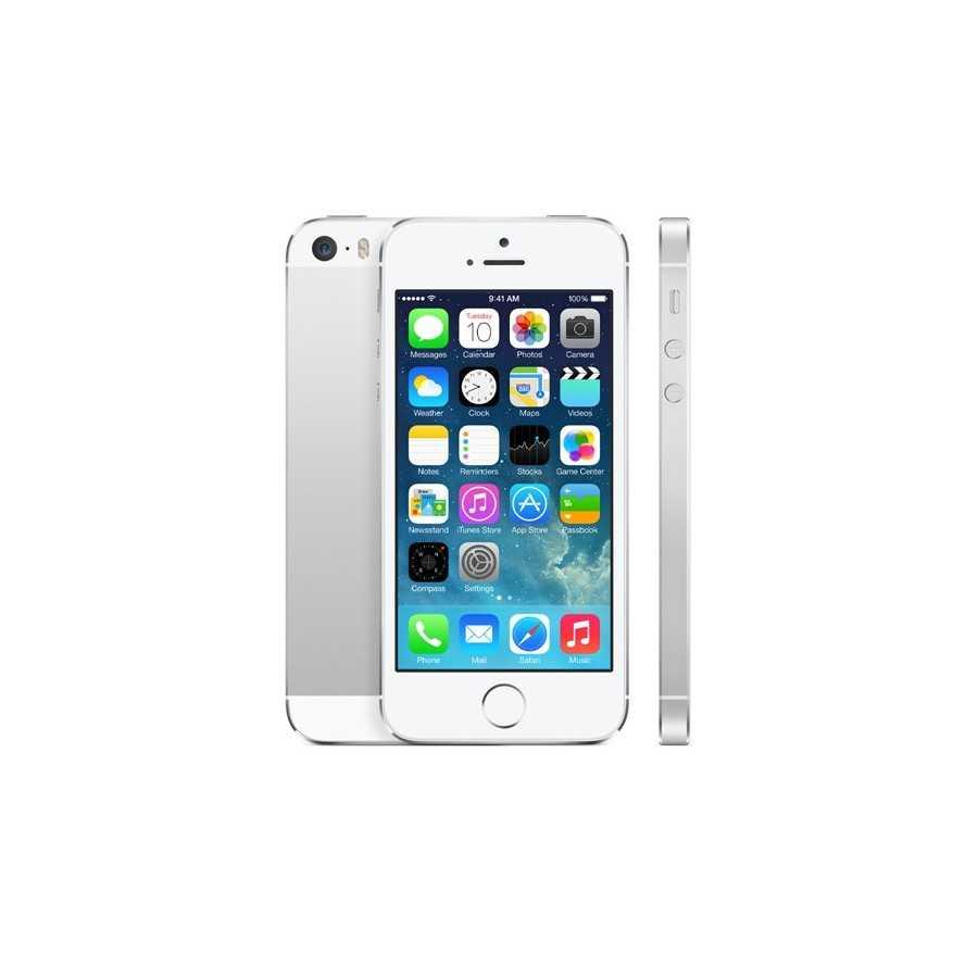 GRADO B 32GB SILVER - iPhone 5S ricondizionato usato