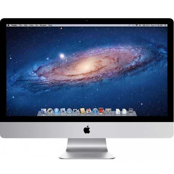 """iMac 27"""" 2.7GHz i5 12GB RAM 1000GB HDD - Metà 2011"""
