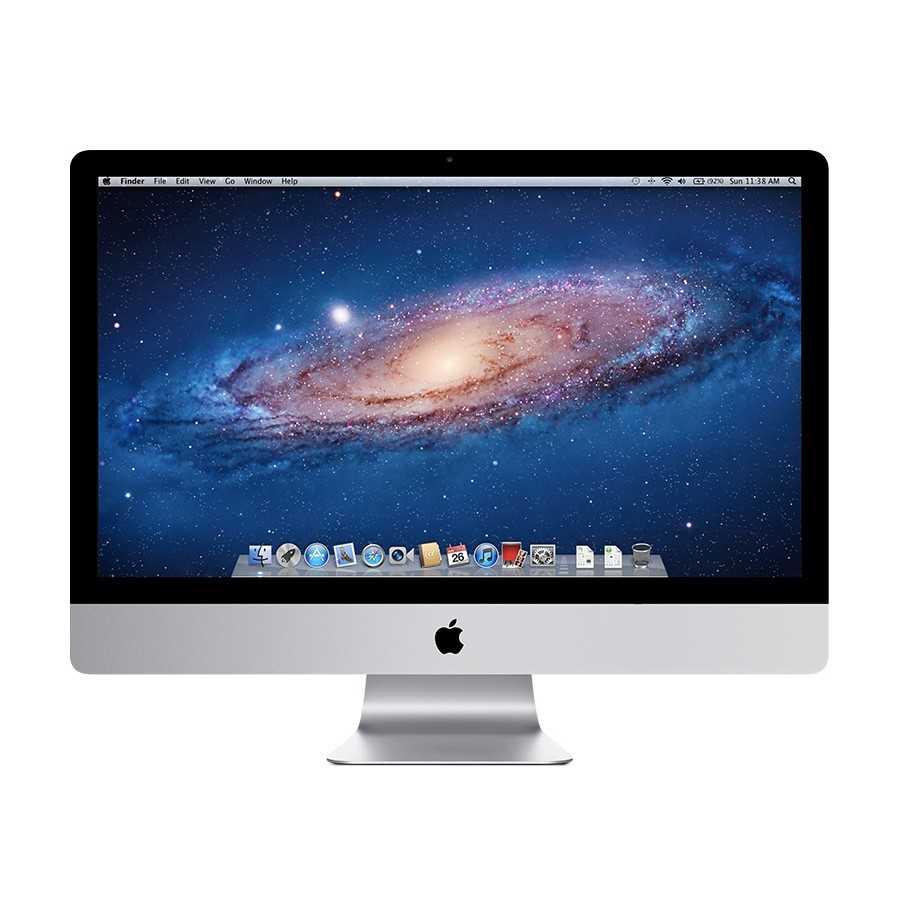 """iMac 27"""" 2.7GHz QC i3 4GB RAM 1000GB HDD - Metà 2011 ricondizionato usato IMAC27"""