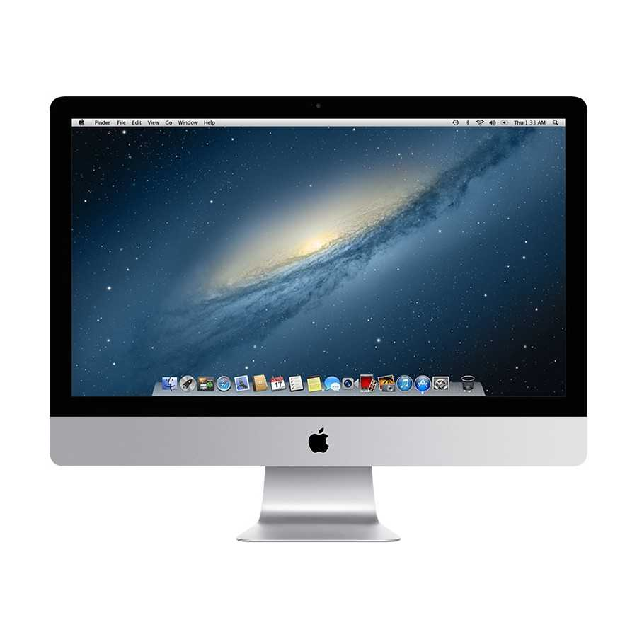 """iMac 27"""" 2.9Hz i5 8GB RAM 1TB HDD + 128GB Flash - Fine 2012 ricondizionato usato IMAC27"""